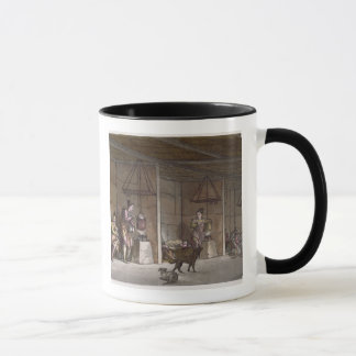 Smokehouse in Greenland (colour engraving) Mug
