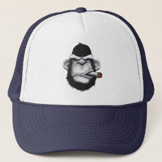 Smoker Monkey Trucker Hat
