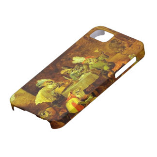 Smokers and Drinkers by David Teniers the Younger iPhone 5 Covers