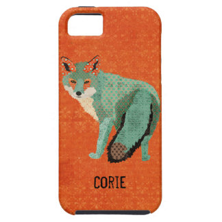 Smokey Amber Fox  iPhone Case iPhone 5 Case