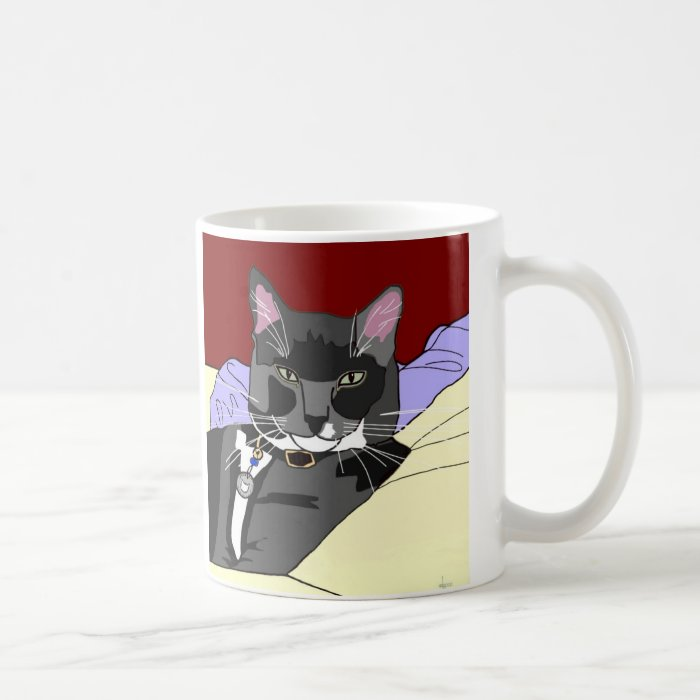 Smokey Cat Mug