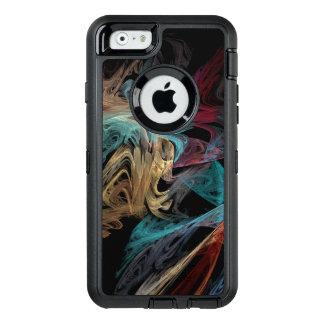 Smokey Fractal OtterBox Defender iPhone Case