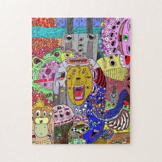 Smokey The Bear Jigsaw Puzzle