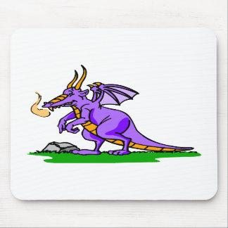 Smokey the Dragon Mousepads