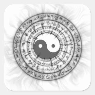 Smokey Ying Yang Sticker