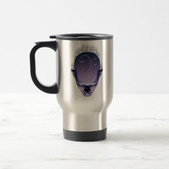 Smokin' Bass Head Travel Mug