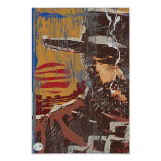 Smokin' Cowboy Poster