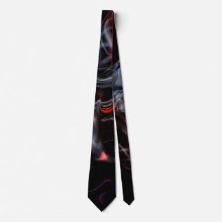 Smokin' Hot Flames and Smoke Tie