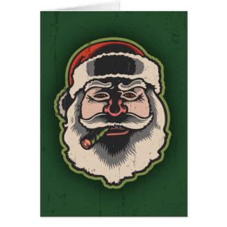 Smokin' Santa III Card