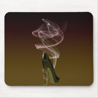 Smokin' Stiletto Shoe Art Mouse Pad