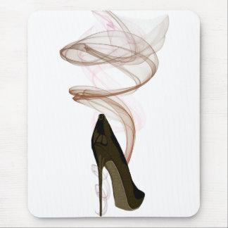 Smokin Stiletto Shoe Art Mousepads