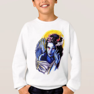 Smoking angel sweatshirt