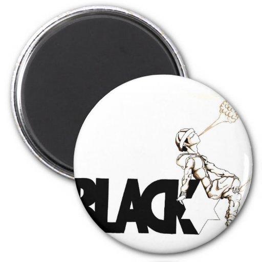 smoking blackstar refrigerator magnets