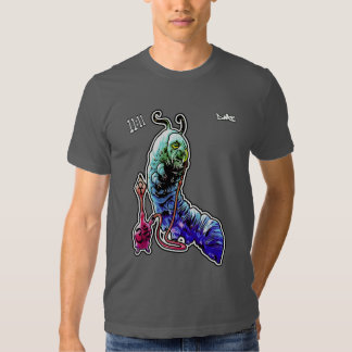 Smoking Caterpillar psycadelic t-shirt - dmt 11:11