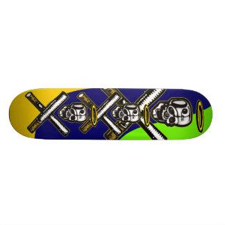 Smoking Death 20.6 Cm Skateboard Deck