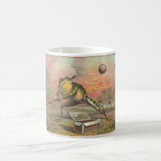 Smoking Frog Playing Baseball Coffee Mug