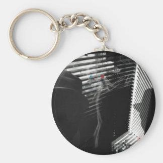 Smoking Gun Basic Round Button Key Ring