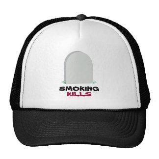 SMOKING, KILLS TRUCKER HATS