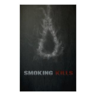 Smoking Kills Hanging Rope Personalised Stationery
