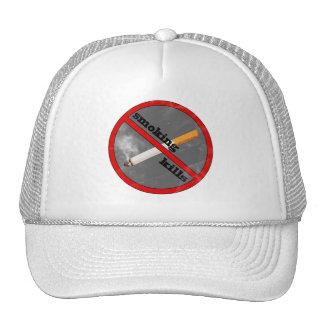 smoking kills trucker hats