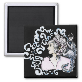 Smoking Monkey. Art Products Refrigerator Magnets