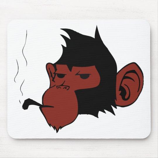 Smoking Monkey Mouse Mat