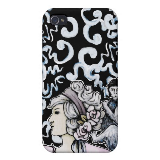 Smoking Monkey Products Cover For iPhone 4