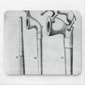Smoking Pipes Mouse Mat