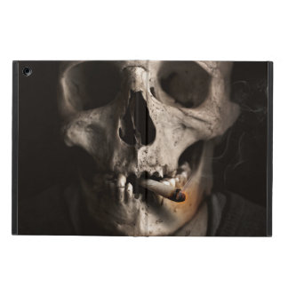 Smoking skeleton case for iPad air
