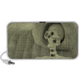 smoking skeleton speakers