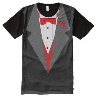 smoking T-shirt,suit t shirt All-Over Print T-Shirt