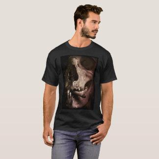 Smoking Till Death Skull Bone Halloween T-Shirt