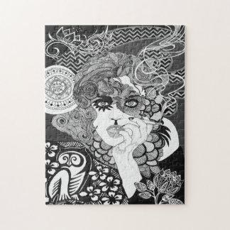 Smoking Woman Puzzle
