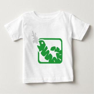 smoking worm baby T-Shirt