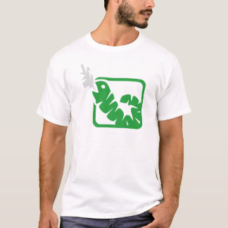 smoking worm T-Shirt