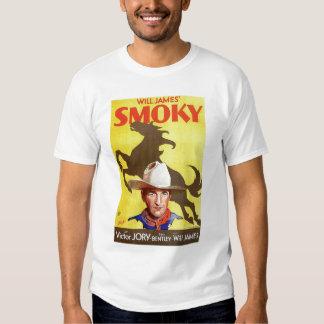 """Smoky"" 1933 vintage western movie poster T-shirt"