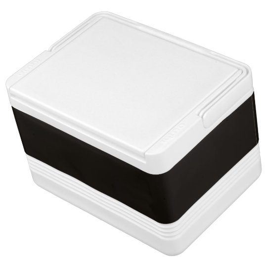 Smoky Black Exclusive Solid Colour Igloo Cool Box