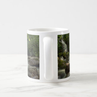 Smoky Mountain Stream Basic White Mug