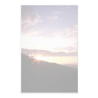 Smoky Mountain Sunrise Personalised Stationery