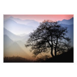 Smoky Mountain Sunset from the Blue Ridge Parkway Art Photo