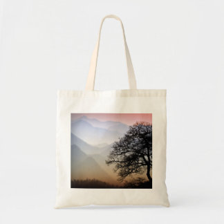 Smoky Mountain Sunset from the Blue Ridge Parkway Tote Bag