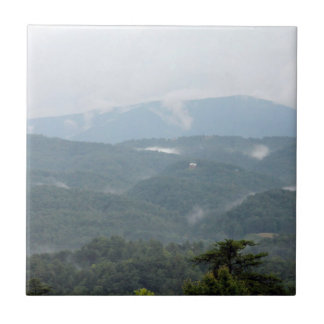 Smoky Mountains ceramic tile