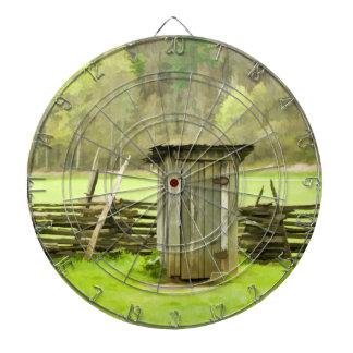 Smoky Mountains Outhouse Dartboard