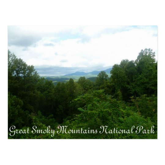 Smoky Mountains Postcard
