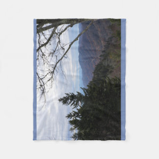 Smoky Mountains Tennessee Clingmans Dome Blanket