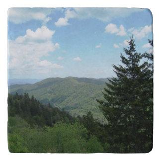 Smoky Mountains Trivet Stone