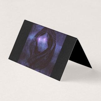 Smoldering gaze card
