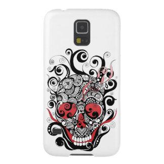 Smoldering Skull Phone Case