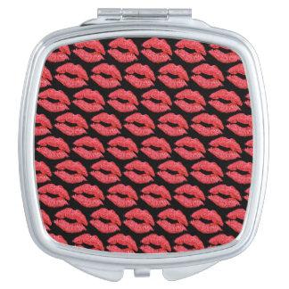Smooch Makeup Container Makeup Mirror