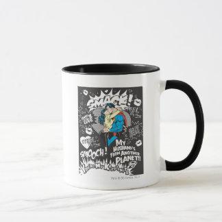 Smooch, Smack - Collage Mug